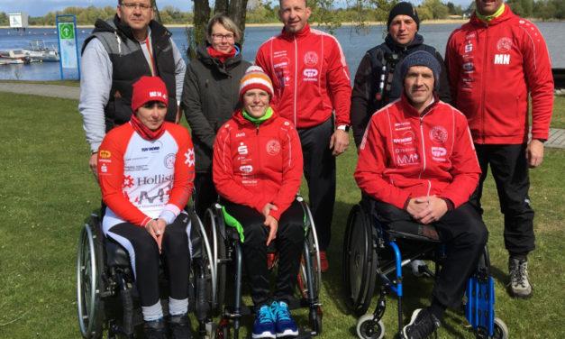 Anja Adler, Ivo Kilian und Maik Polte vom HKC 54 starten für Deutschland