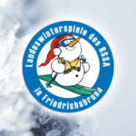 26. Landeswinterspiele des BSSA in Friedrichsbrunn