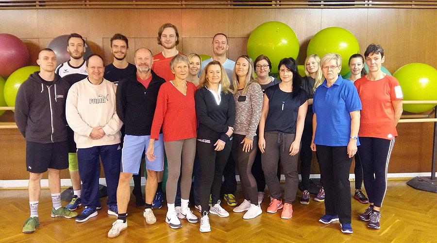 BSSA begrüßt 17 zukünftige Rehasport-Übungsleiter des Erkrankungsbereiches Orthopädie
