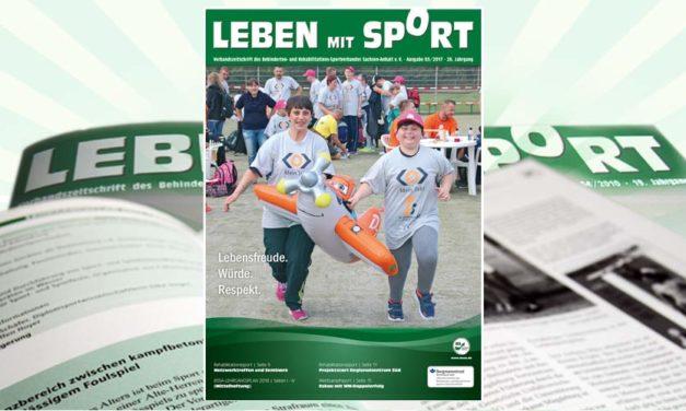 """""""Leben mit Sport"""", Ausgabe 3/2017 ist erschienen"""
