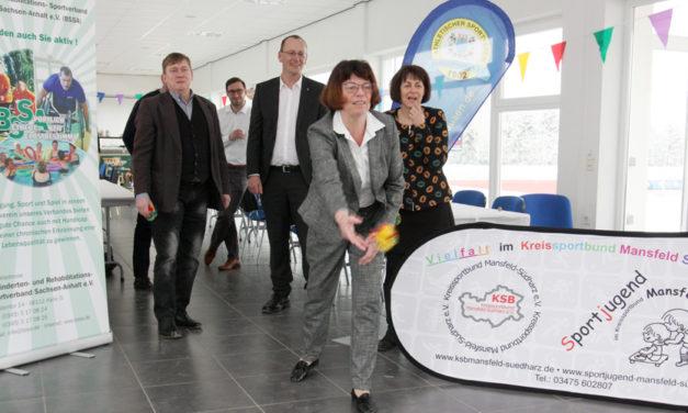 """Sportprogramm mit Rosen, Kupfererz und Mammut: """"29. Landessportspiele für Behinderte und ihre Freunde"""""""