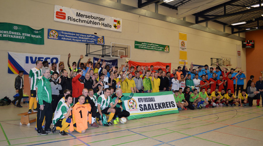 Sehenswerte Tore beim Fußball-Inklusionscup