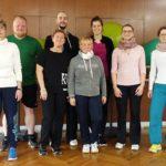 BSSA begrüßt 8 zukünftige Rehasport-Übungsleiter des Erkrankungsbereiches Orthopädie
