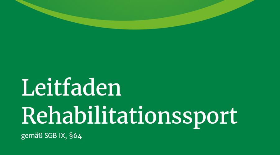 Leitfaden Rehabilitationssport § 64 SGB IX