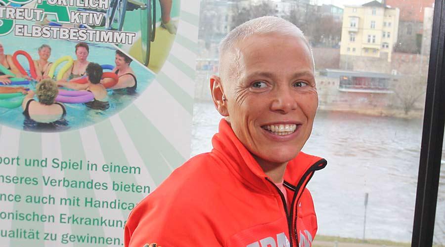 Andrea Eskau ist Sportlerin des Monats März