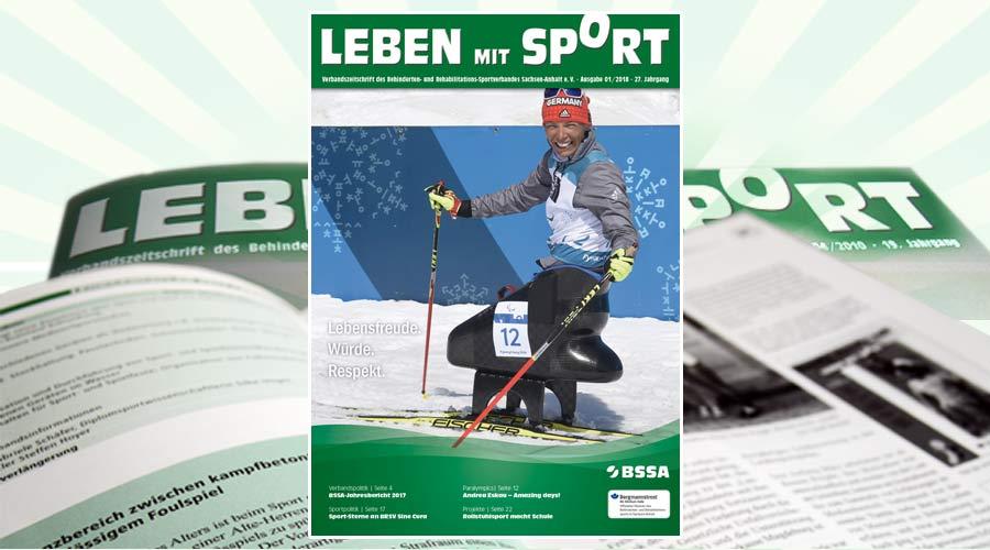 """""""Leben mit Sport"""", Ausgabe 1/2018 ist erschienen"""
