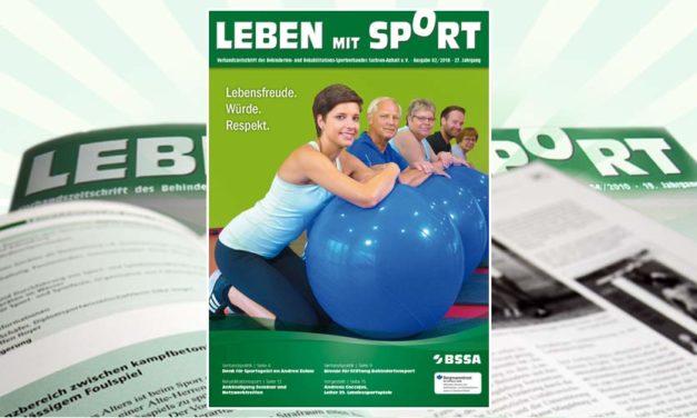 """""""Leben mit Sport"""", Ausgabe 2/2018 ist erschienen"""