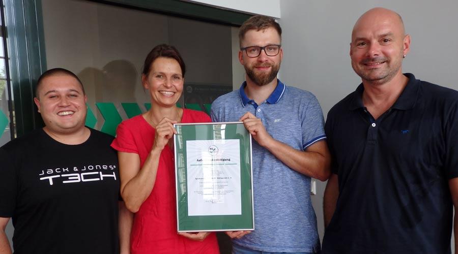 """BSSA begrüßt die Abteilung """"Gesundheits- und RehaSport"""" des """"SV Rot-Weiß Königerode e. V."""""""