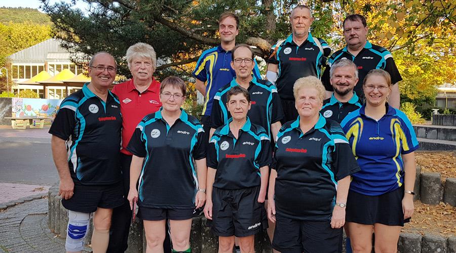 Medaillensegen bei Deutscher Senioren-Meisterschaft Tischtennis