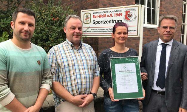 """BSSA begrüßt die Abteilung """"Gesundheits- und RehaSport"""" des """"Wernigeröder Sportvereins """"Rot- Weiß"""" 1949 e. V."""""""