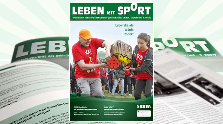 """""""Leben mit Sport"""", Ausgabe 3/2018 ist erschienen"""