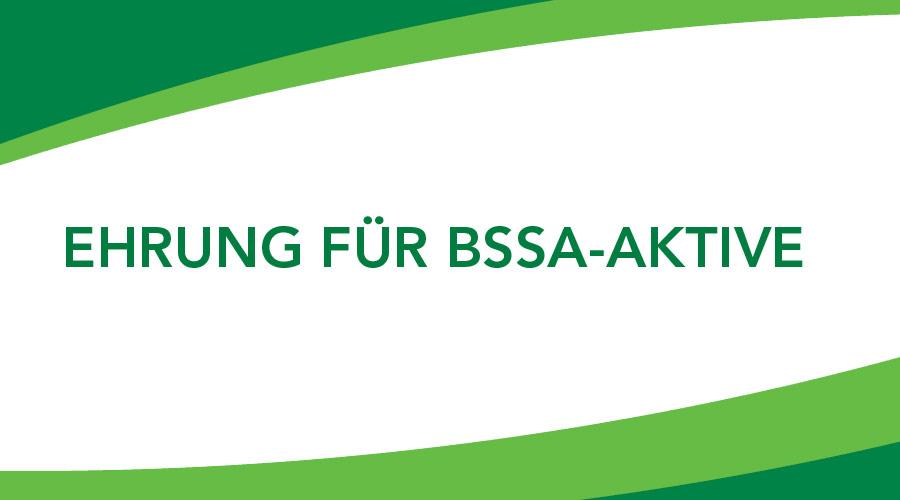 Würdigung besonderer Verdienste im Sport für BSSA-Aktive