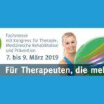 """BSSA informiert auf der """"therapie"""" Messe in Leipzig  vom 7. März – 9. März 2019"""