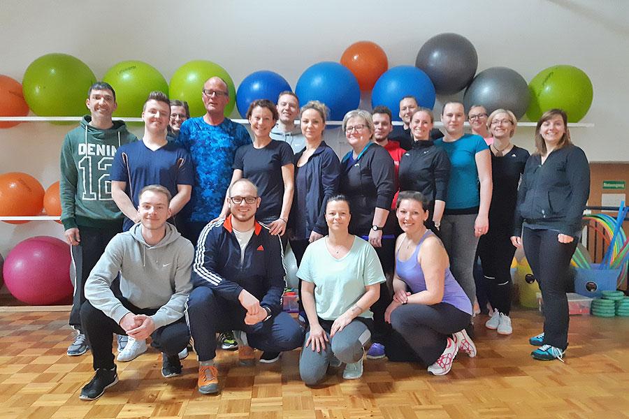 BSSA begrüßt 20 zukünftige Rehasport-Übungsleiter des Erkrankungsbereiches Orthopädie