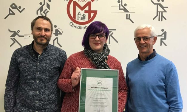 """BSSA begrüßt die Abteilung """"Gesundheits- und RehaSport"""" der """"Turn- und Sportgemeinschaft GutsMuths 1860 Quedlinburg e. V."""""""