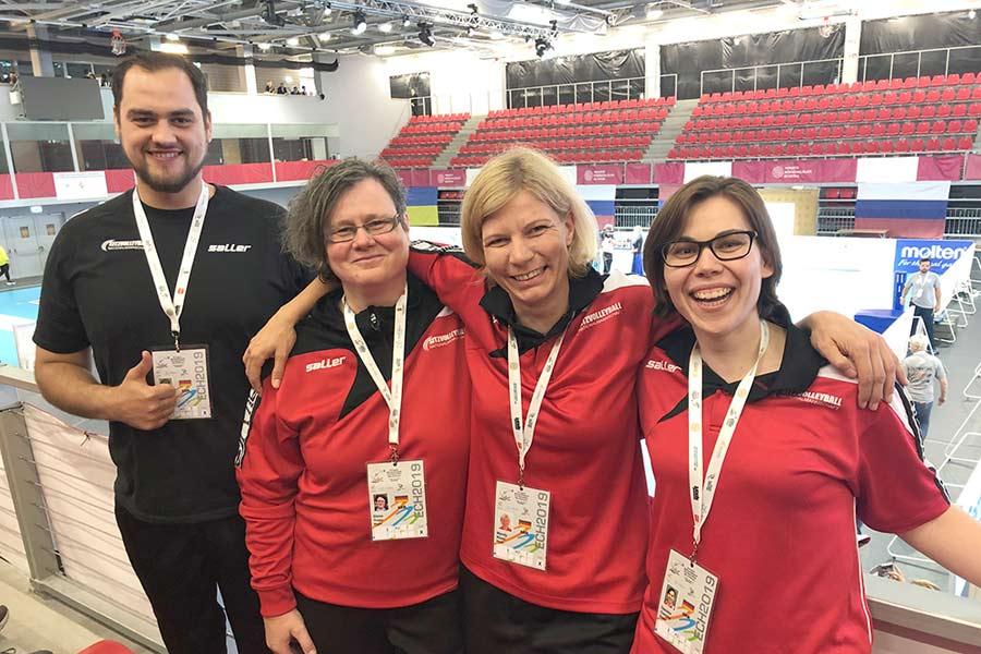 EM-Bronze und Platz vier im Sitzvolleyball mit BSSA-Beteiligung