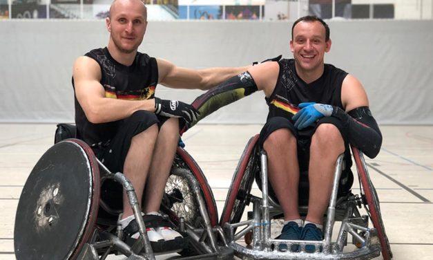 EM-Platz Fünf für Rollstuhlrugby-Nationalmannschaft