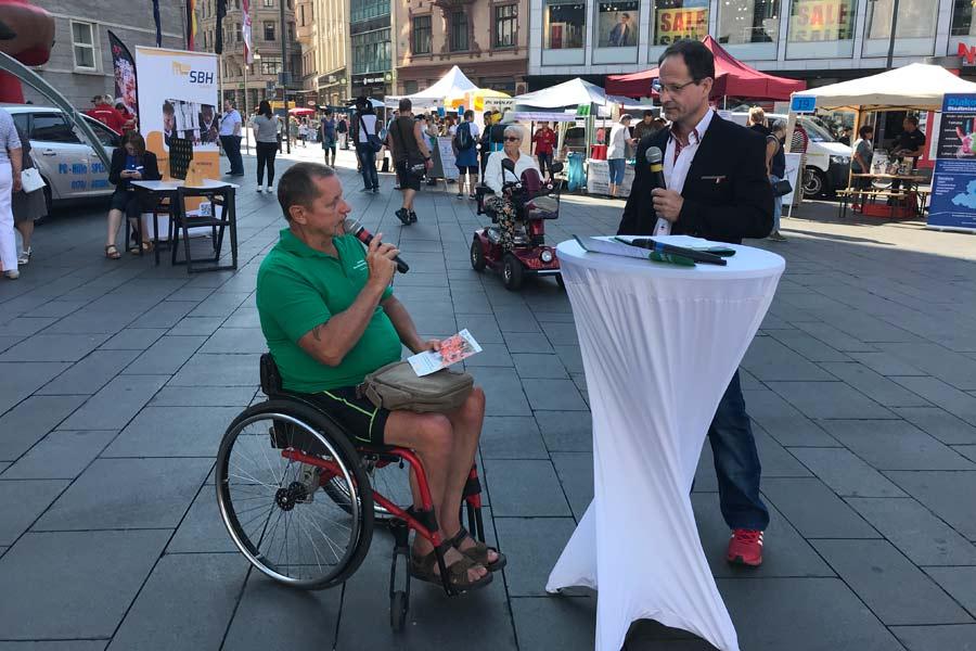 Interview mit Mathias Sinang zum Deutschen-Reha-Tag