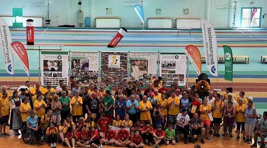 30. Landessportspiele für Behinderte und ihre Freunde – eine heiße Jubiläumsveranstaltung