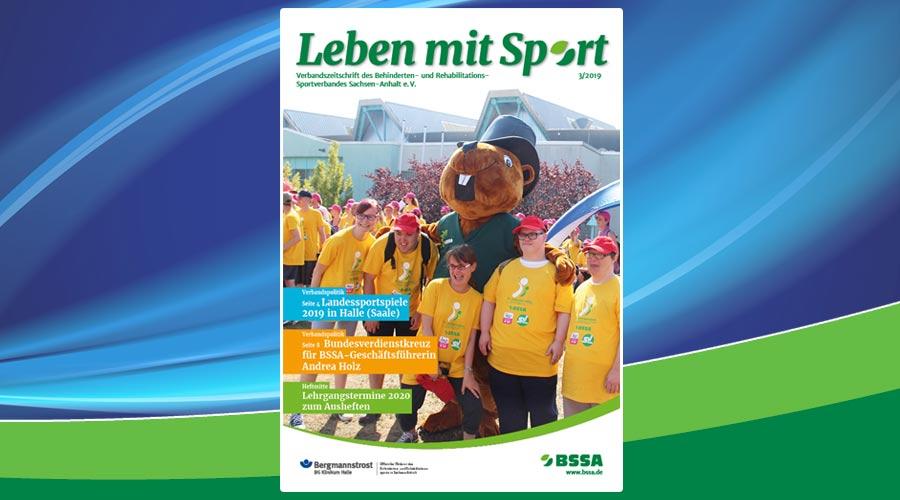 Leben mit Sport – Heft 3/2019 ist erschienen