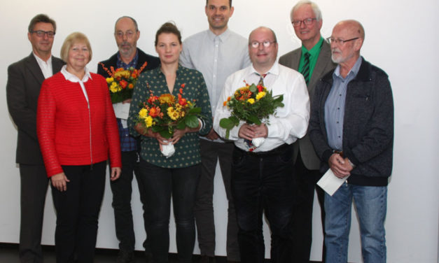 Auszeichnung der Landtagspräsidentin an drei BSSA-Vereine