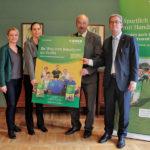 Informationstafel zum ambulanten Rehabilitationssport im Eisenmoorbad Bad Schmiedeberg