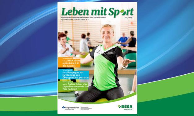 Leben mit Sport – Heft 4/2019 ist erschienen