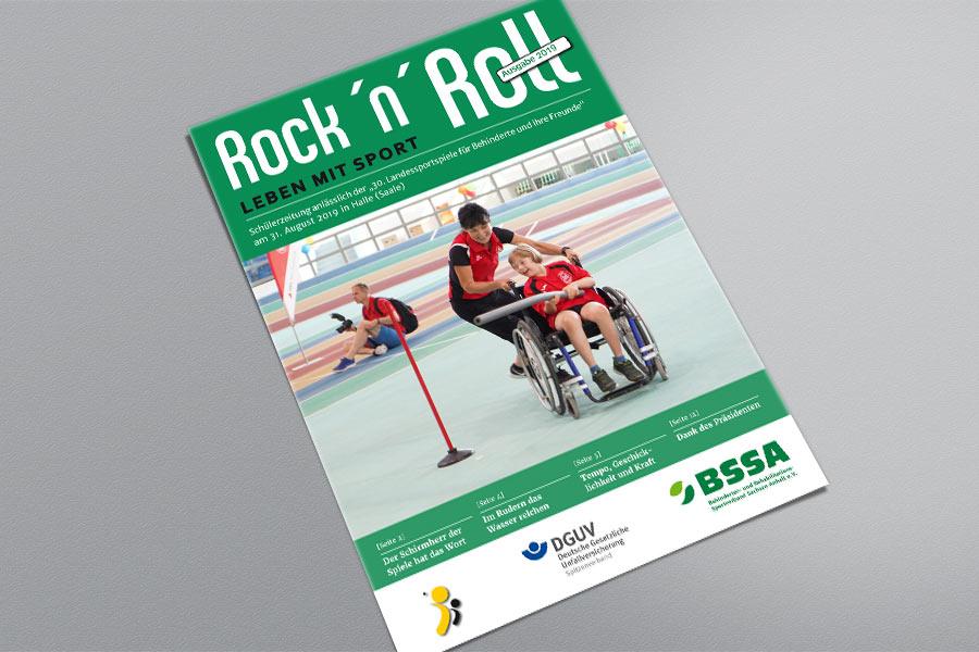 Von Schülern für Schüler – Präsentation der Schülerzeitung Rock 'n' Roll, Ausgabe 2019