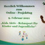 Online Projekttag Kids Aktiv