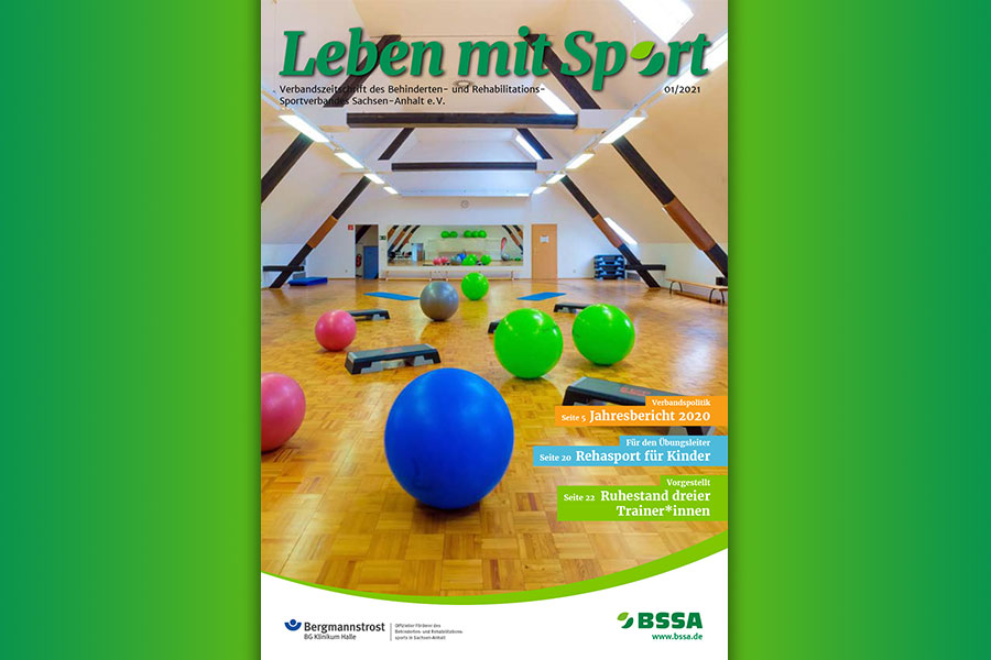 Leben mit Sport – Heft 1/2021 ist erschienen