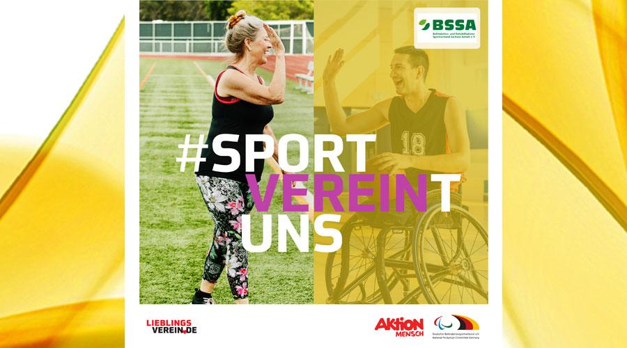 PR-Kampagne #SportVEREINtuns – für Mitgliedsvereine des BSSA