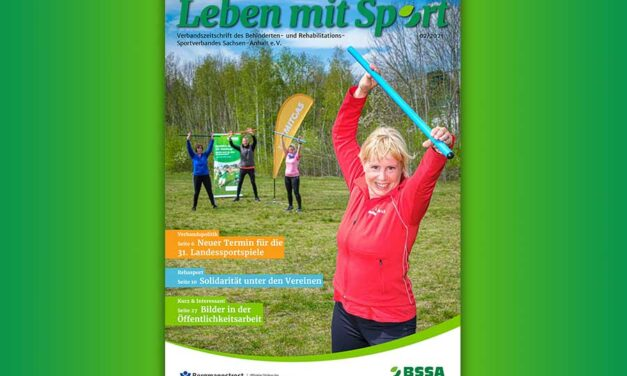 Leben mit Sport – mit Heft 2/2021 durch den Sommer