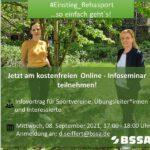 #Einstieg_Rehasport BSSA Online-Seminar