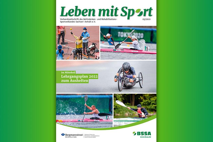 Leben mit Sport –Heft 3/2021 mit Lehrgangsplan ist erschienen