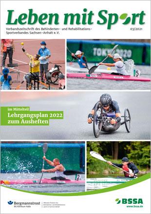 Titel Leben mit Sport Ausgabe 03-2021